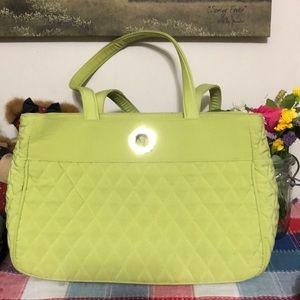 2 for $20 Lime Green Vera Bradley Bag